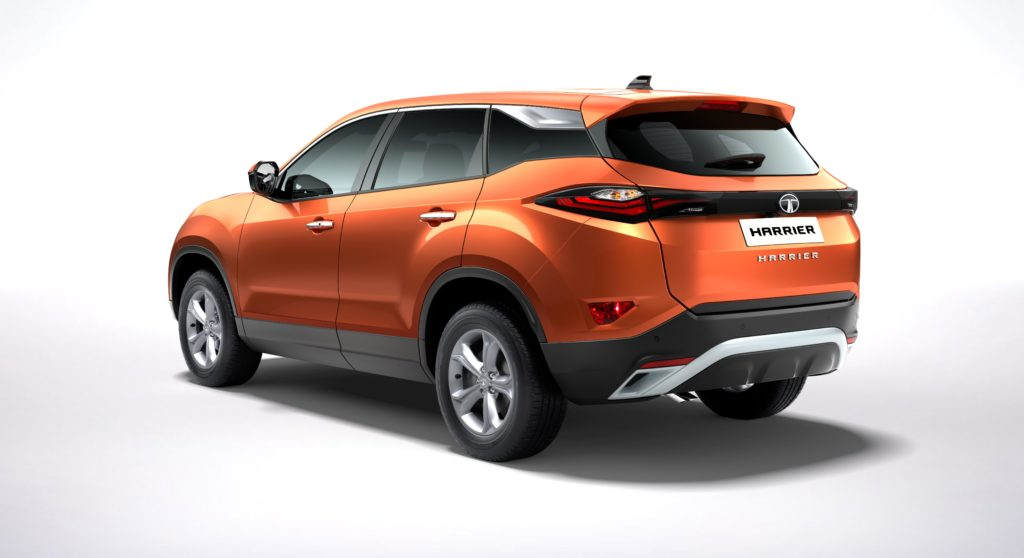 Here Is The First Tata Harrier SUV , Production Tata Harrier Images Are Now Out! Watch Tata Harrier Video Here 6