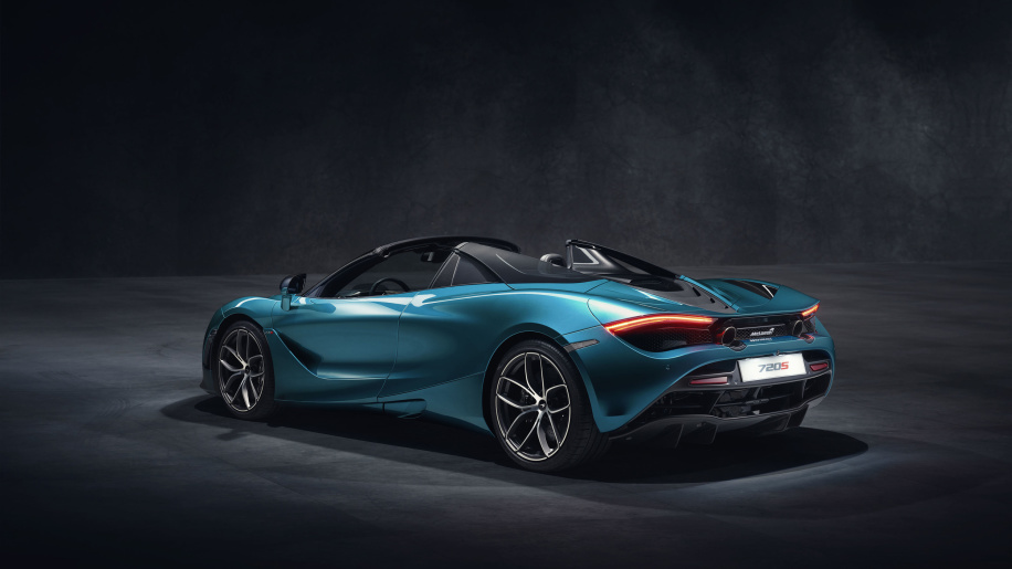 The New McLaren 720S Spider Demands Massive Jaw-drops For Its New Roof, Colors And Glass Flying Buttresses ! 2