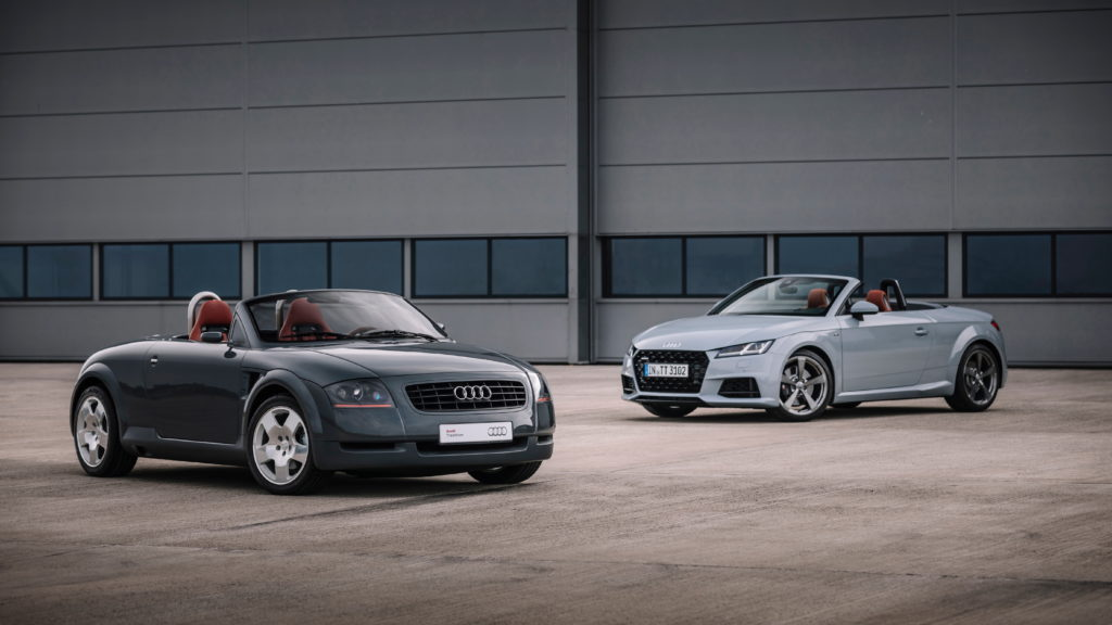 An Audi TT With A Killer Interior Like Never Before, That's How They Celebrate 20 Years Of The Car! 2