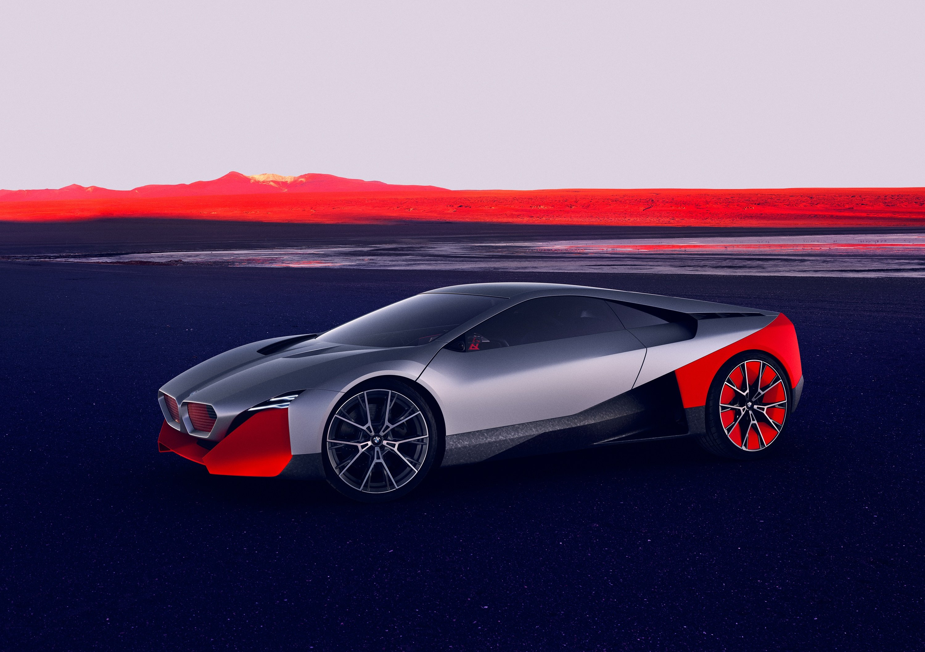 The 600 HP BMW Vision M NEXT Looks As If Straight Out Of A Sci-Fi Movie And Is Tomorrow's Perfect Hybrid Driver's Car ! 2