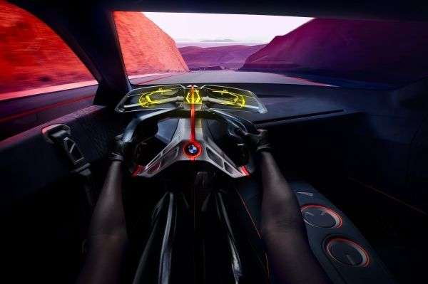 The 600 HP BMW Vision M NEXT Looks As If Straight Out Of A Sci-Fi Movie And Is Tomorrow's Perfect Hybrid Driver's Car ! 4